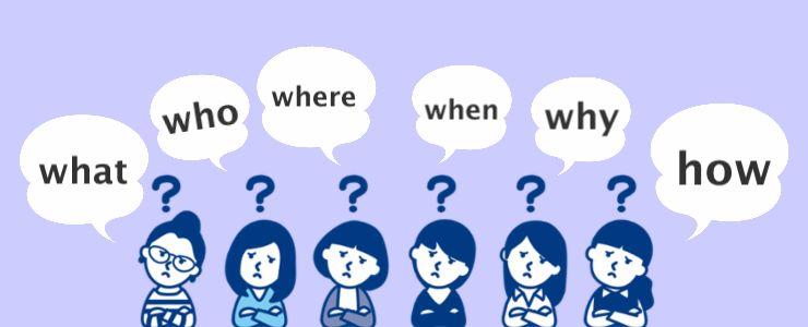 疑問詞のパターン