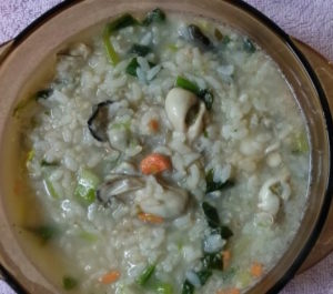 牡蠣のお粥