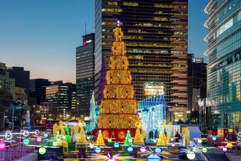 韓国のクリスマス